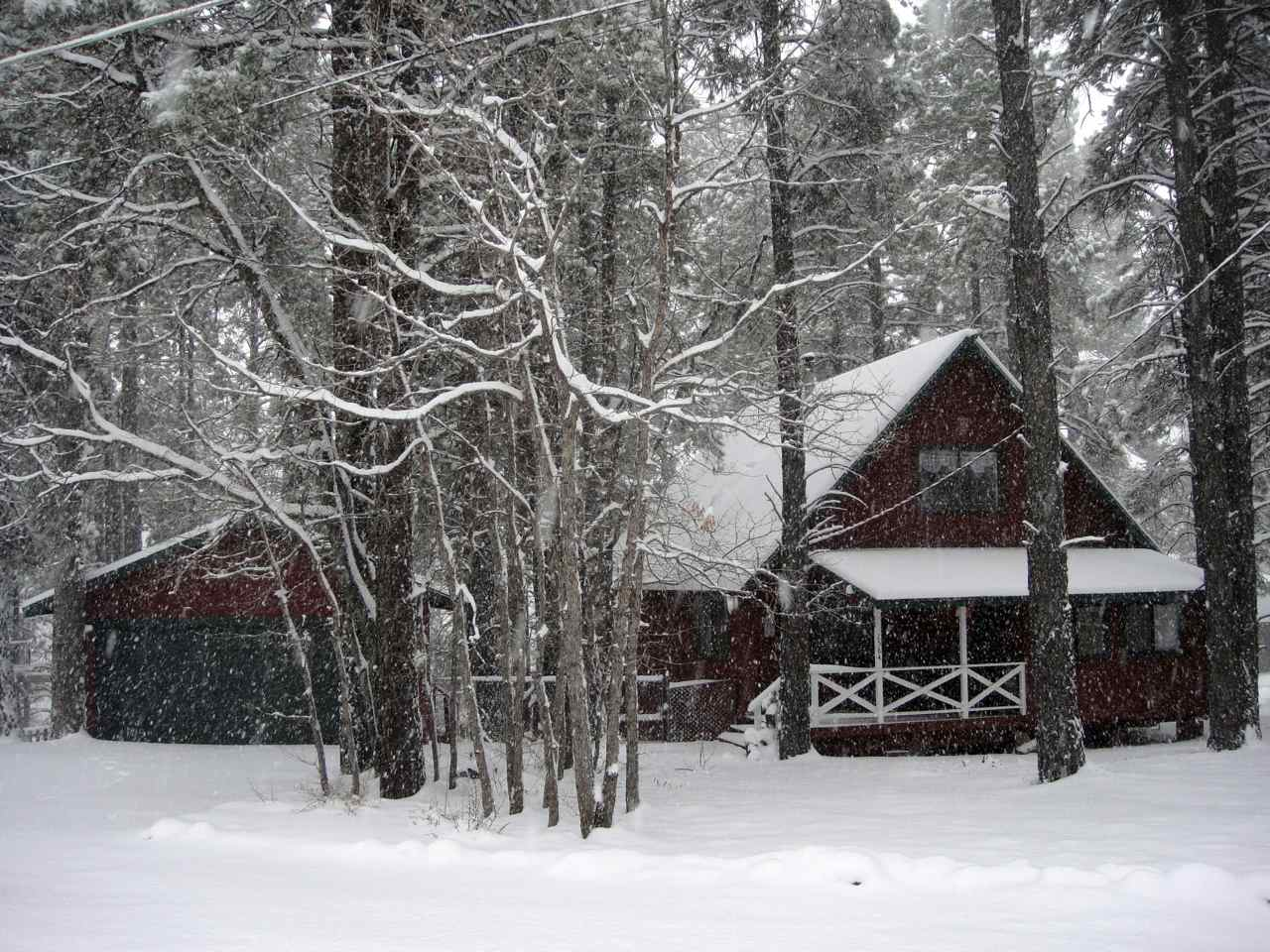 Snow Flagstaff Rental Cabin