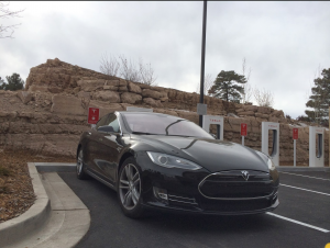 Tesla Super Charger in Flagstaff