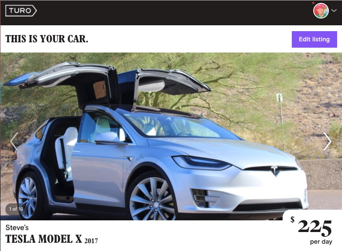 Rent a Tesla Model X for Flagstaff